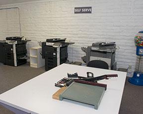 Self serve work station