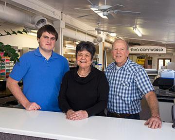 Staff of Patt's Copy World